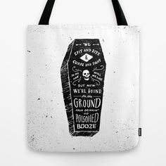 Poison Tote Bag by Jon Contino - $22.00