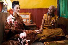 Harper's Bazaar : Seven Days in Tibet on Behance
