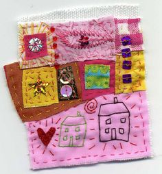 two houses and heart by Crafty Little House, via Flickr