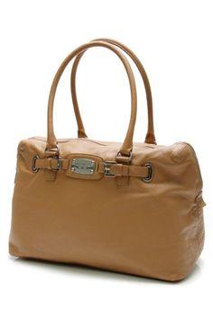 New Michael Michael Kors Luggage Leather Hamilton Weekender Satchel Tote Handbag | eBay