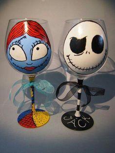 Wine glasses More