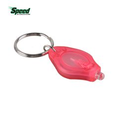 2017 New High Quality Outdoor Sport LED Light Keychain Keyring Money Detector Protable Mini Car Key Accessories Tools 7 Colors