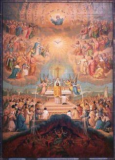 Holy sacrifice of the Mass