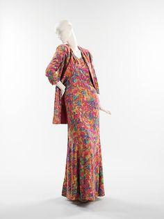 Evening ensemble Designer: Vera Maxwell (American, 1901–1995) Date: ca. 1962 Culture: American Medium: silk