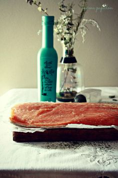 Salmón ahumado con especias - Smoked salmon