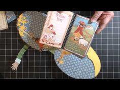 Graphic 45 Mother Goose Collection~Humpty Dumpty Mini Album