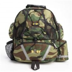 Baby Sherpa Diaper Backpack - Camo Green