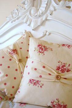 Dolliedaydream, Textiles, French Shabby Chic, Boudoir, Cushions