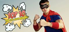 We've all had childish dreams about being a super hero right? Or is that just me? Anyway, there are some living among us that didn't just dream, they became.  #top10 #superhero #manspace