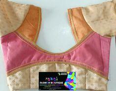 Saree Tassels Designs, Pattu Saree Blouse Designs, Blouse Designs Silk, Designer Blouse Patterns, Patch Work Blouse Designs, Simple Blouse Designs, Stylish Blouse Design, Chudidhar Neck Designs, Blouse Back Neck Designs