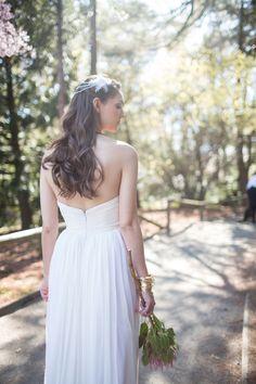 Sarah Jassier for Angelique Bridal gown
