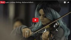 Violinist Lindsey Stirling Disguises Herself To Play 'Hallelujah' In Subway - Music Videos Lindsey Stirling, Christmas Music, A Christmas Story, Dubstep, Violin Music, Violin Sheet, Her Music, Music Music, Music Videos