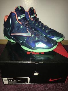 9e7a948cb66e Nike Lebron 11 Akron vs Miami Colorway Size 14  fashion  clothing  shoes