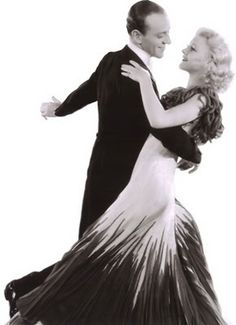 Fred Astaire and Ginger Rogers fashion