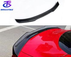 More detail,please contact us: Email:info@brillstyle.com Carbon Fiber Spoiler, Mustang, Detail, Carbon Fiber, Mustangs, Mustang Cars