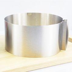 Retrattile Circle Cake Anello, Acciaio inossidabile Diametro: 16-30cm Altezza: 8,5 centimetri – EUR € 9.08