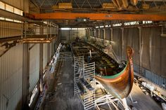 Draken Harald Hårfagre 35 m long and 8 m wide, Draken is the largest Viking ship in the world