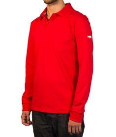 Polo Shirts With Pockets, Custom Polo Shirts, Red Polo Shirt, Buttonholes, Red Color, Tape, Contrast, Collections, Suits