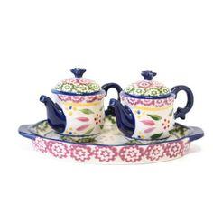 temp-tations® by Tara: temp-tations® Old World Figural Teapot Salt & Pepper Shakers