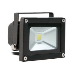 Lighting EVER 10 Watt Outdoor LED Flood Light, 100 Watt Incandescent or Halogen Bulb Replacement, Daylight White by Lighting EVER. $26.99. This item is 10W Outdoor LED Flood Lights. It's good choice for small size advertise board lighting and garden lighting. Protecting rating is IP65, so it can be used for outdoor lighting. Color temperature is 6000K. Lighting EVER(TM) High Quality Standard.90 days money back guarantee.