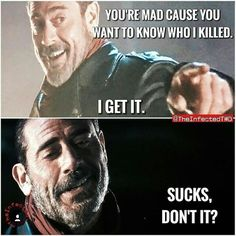 Am I the only one who thinks it's Glenn Walking Dead Season 6, Walking Dead Tv Show, Walking Dead Funny, Best Shows Ever, I Got This, Things To Think About, Fictional Characters, Jeffrey Dean, Fandoms