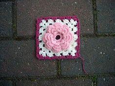 Irish rose square met nederlandse beschrijving