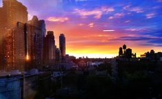last sunset for Firstborn in Hell's Kitchen. On to TriBeCa! ©zachmyrow #zachmyrow