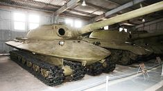 Pre 1959 Russian 60 ton tank built to withstand nuclear shockwaves.
