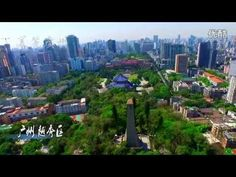 Guangzhou, China Aerial - Travel with Drone - Global Aerial Perspective. Via airpano.com and travelwithdrone.com.