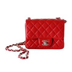 f99767a05a2a CHANEL bag MINI 2013 Cruise RED leather a Jewel   From a collection of rare  vintage. 1stdibs.com