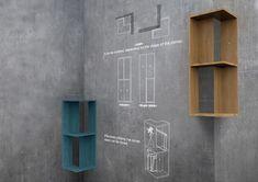 outside - Corner Shelf by Kim Hyung Geun