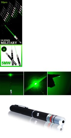 Laser Pointers: 50Pcs 5Mw 532Nm Lazer Visible Beam Light Military Green Laser Pointer Pen Power -> BUY IT NOW ONLY: $87.99 on eBay!