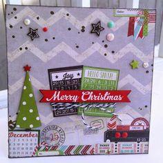 Scrapbook Nerd Guest DT.  Simple Stories December Documented. Paper Candie Designs