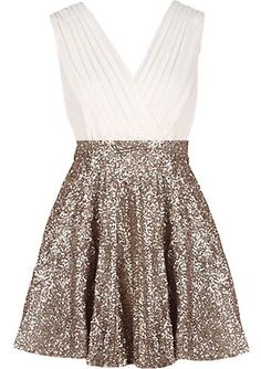 I'm searching so hard for a good holiday party dress. This may well be it