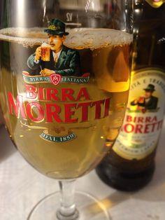 Birra Moretti. Italianische Premium Lager.