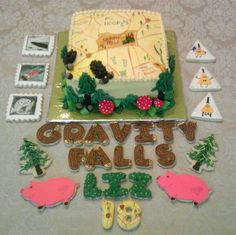 gravity falls cookies - Google Search