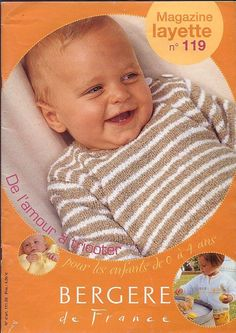 Children and Young Knitting Magazine, Crochet Magazine, Crochet Bebe, Knit Crochet, Crochet Books, Baby Patterns, Knitting Projects, Baby Boy Outfits, Baby Knitting