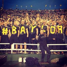 Love the hashtag! #Baylor