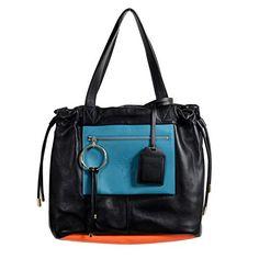 Versace 100% Leather Multi-Color Women's Handbag Bag