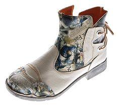 Damen Leder Stiefeletten Comfort Boots Knöchel Schuhe TMA 5116 Halbschuhe Weiß Gr. 36 - http://on-line-kaufen.de/tma/36-eu-damen-leder-stiefeletten-comfort-boots-tma-5