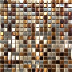 Stainless Steel Mosaic Tile  in stock $19.5/SF