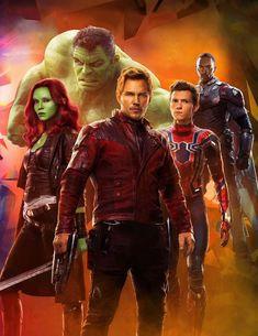 Pôsteres oficiais e artes incríveis de Vingadores: Guerra Infinita - Minha Série