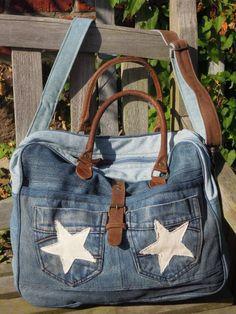 Vintage Canvas Bag - Laptoptasche Jeans http://www.homesweethome-decorations.de/shop/Vintage-Canvas-Bags/