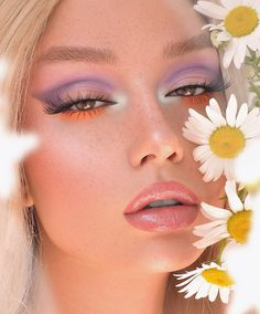The Cutest 20 Spring Makeup Looks ⋆ Beautymone Makeup Eye Looks, Cute Makeup, Glam Makeup, Pretty Makeup, Makeup Art, Beauty Makeup, Hair Makeup, Makeup Tips, Makeup Trends