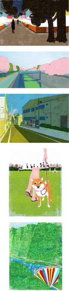 Nice work by Tatsuro Kiuchi via theartcake.com.