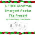 This is a FREE cute and simple emergent reader for Christmas.