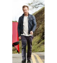"""Teriffic Need for Speed Aaron Paul Jacket! Desert Leather Presents Aaron Paul Leather Jacket from the magnificent Hollywood movie, """"Need For Speed"""", which is made of 100% Cowhide leather. Price: $179.00 + You Save: $50.00 + Worldwide Free Shipping + Free Gifts Included http://www.desertleather.com/Need-for-Speed-Jacket-Aaron-Paul"""
