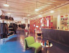 Vintage Fashion shop by Emmanuelle Diebold, Architect & Designer