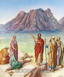 Israel en el Monte Sinaí