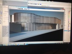 3D. Render . Design 202. Theater Coqui and Anex. Preservation and Conservation. Architecture PUCPR